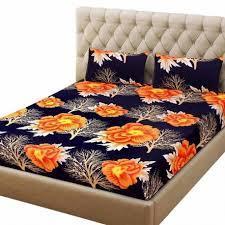 Sheet Online Premium Designer 3d Double Bedsheet