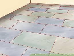 innovative bathroom floor heating mats on bathroom with install electric radiant heat mat under a tile floor radiant 5