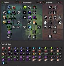 Wow Pet Battle Chart Wow Classic Warlock Leveling Guide Warcraft Tavern