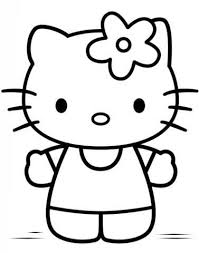 Hello Kitty Coloring Pages Inspirational Printable Kitty Coloring