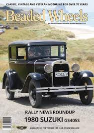 Beaded Wheels Issue 357 April/May 2019 by Vintage Car Club of New ...
