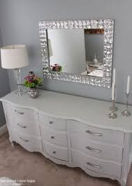 white furniture decor bedroom. this is a good idea i need to replace the mirror attached my dresser pronto 5 ways modernize dated furniture white decor bedroom n
