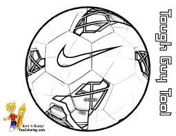 Soccer Ball Coloring Page You Can