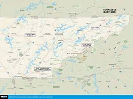printable travel maps of tennessee  moon travel guides
