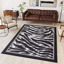 9ft10 x 13ft1 300 x 400 cm tapiso area rugs for living room bedroom modern light dark grey waves contemporary pattern