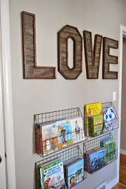 wall letter decoration