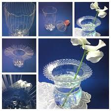 wonderful diy woven plastic bottle vase