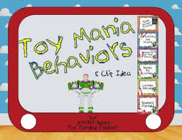Toy Story Behavior Chart Worksheets Teaching Resources Tpt