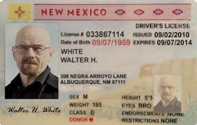 Guerrilla – Drivers Nm License Walter Graphix White Postcard
