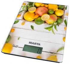 <b>Весы кухонные Marta MT-1634</b> citrus mix электронные; до 5 кг (± 1 ...