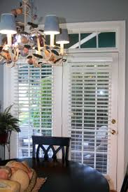 ... French Door Blinds Lowes Home Depot Faux Wood Blinds French Door With  French Sidelight ...
