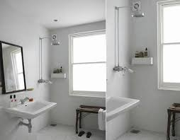 adding shower to half bathroom inviting open architecture design better living through intended for 6