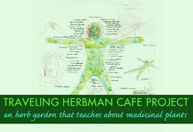 Small Picture Giant Man Shaped Traveling Garden Teaches About Herbal Medicine