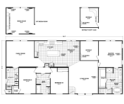 floor plan foster retreat center house plans with master building