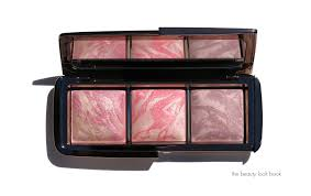 the latest addition to the hourglass ambient lighting line is the ambient lighting blush palette 58 for 3 shades each 0 116 oz 3 3g