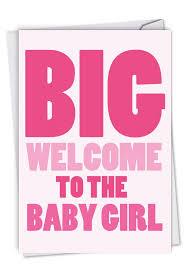 New Baby Girl Card