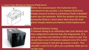 Tell Tale Signs Of A Defective Car Battery