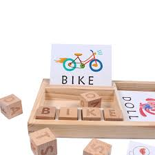 <b>Wooden</b> Cognitive Puzzle Cards Cardboard <b>New Baby</b> Educational ...
