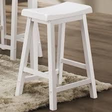 white wood saddle seat bar stool design photo beautiful white wood bar stools designs