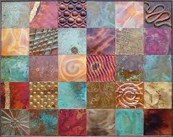 Metal Quilt Art >Metal Art Quilts>>Metal Tile Quilts>>Quilt Art & metal tile wall art Adamdwight.com
