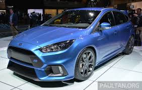 2016 Ford Focus RS specs confirmed: 350 PS, 470 Nm