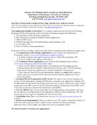 Sample Resume For Graduate School In Psychology New Gallery Of