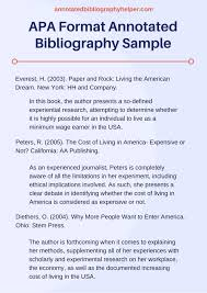 annotated bibliography essay bibliography samples bibliography samples apa format annotated bibliography sample by bibliography samples