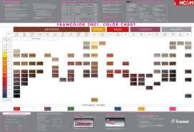 Framesi Framcolor 2001 Color Chart Hair Color Formulas