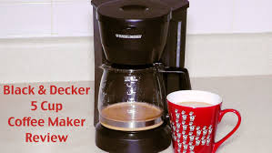 black and decker coffee maker review dcm600w 5 cup drip coffeemaker you