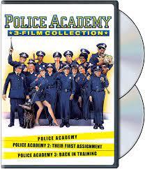 Police Academy 1-3 Collection [DVD] [Region 1] [US Import] [NTSC]:  Amazon.co.uk: DVD & Blu-ray