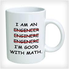 i m an engineer mug