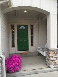 green front doorFront and Center Color When to Paint Your Door Green