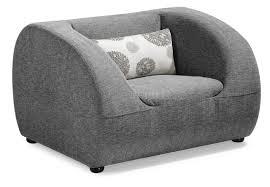 Living Room Arm Chair Fabric Modern Living Room Sofa W Optional Chairs