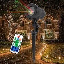 Star Motion Christmas Lights Us 32 99 30 Off Godea Remote Motion Christmas Laser Projector Star Dots Laser Light Shower Static Moving Waterproof Garden Xmas Tree Lighting In