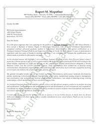 Sample Assistant Principal Cover Letter Sarahepps Com