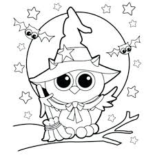 Fun Halloween Coloring Pages Easy Coloring Pictures Simple Pages Fun