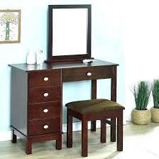 bedroom vanity set with mirror makeup desk black table w bench