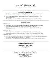 Resume Format Templates 7 Free Resume Templates Curriculum Vitae