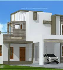Small Picture 2200 Sq Ft Modern Villa Exterior Kerala Home Design And Modern