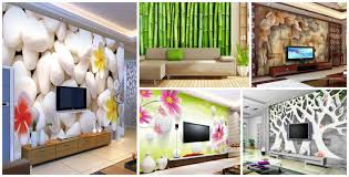 Wallpaper Idea For Living Room 16 Creative 3d Living Room Wallpaper Ideas That You Should Check