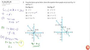 ncert class ix linear equations in two variables exercise 3 question no 5