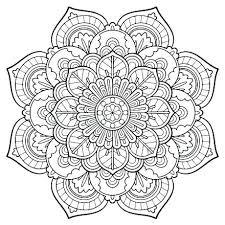 Free Printable Mandala Coloring Pages Pdf Mandala Coloring Pages At