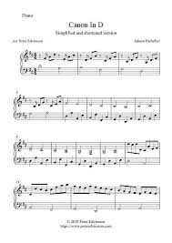 The number (sku) in the catalogue is classical and code 407670. Canon In D Free Easy Piano Sheet Music