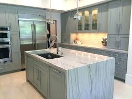waterfall edge granite countertop photo source space architects planners