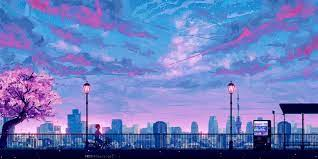 Aesthetic Anime City Wallpapers - Top ...