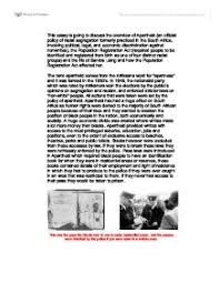 life in sophia town under apartheid gcse history marked by  this essay is going to discuss the overview of