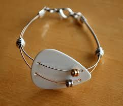 bracelets jewelry guitar string jewelry and guitar string bracelet