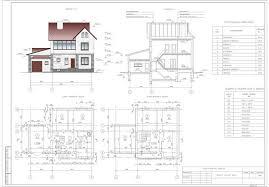 Курсовой проект Кульман проектирование и расчет Курсовой проект по архитектуре на тему Проект жилого дома 2 х этажный коттедж