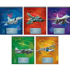 <b>Тетрадь</b> школьная А5,12л,линия <b>Самолеты</b> (графика) ТЛ125575 ...