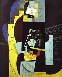 pablo picasso the card player 1913